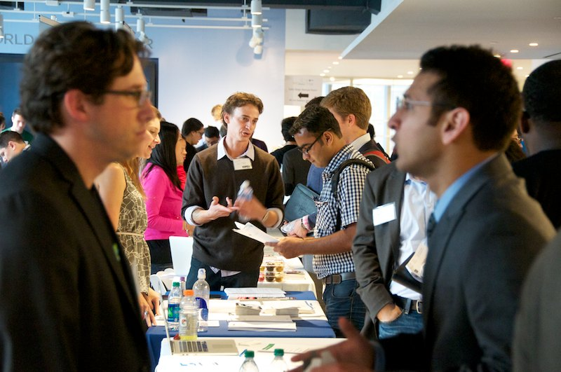 Tips For Making Connections At A Job Fair