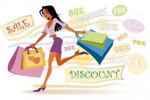 Choosing Products from Online Shop