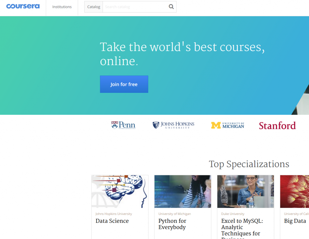 Top 5 Free Online Education Providers